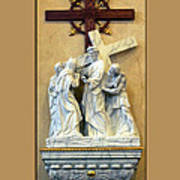 Station Of The Cross 04 Poster
