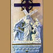 Station Of The Cross 08 Poster
