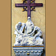 Station Of The Cross 09 Poster