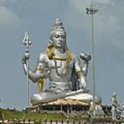 Statue of Lord Shiva at Murudeshwara Poster