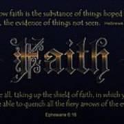 Steadfast Faith Poster by Greg Long