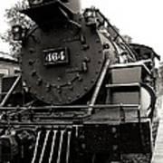 Steam Engine 464 Poster by Scott Hovind