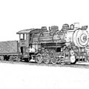 Steam Switcher Number 1894 Poster