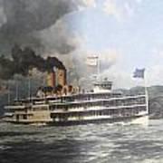 Steamer Alexander Hamilton William G Muller Poster by Jake Hartz