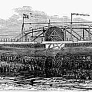 Steamship Launch, 1876 Poster