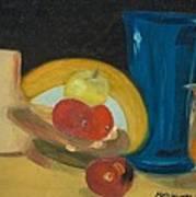 Still Life Of Fruit Poster