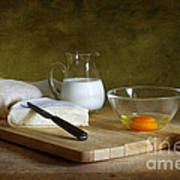 Still Life With Egg Poster