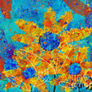 Stimuli Floral S01 Poster by Variance Collections