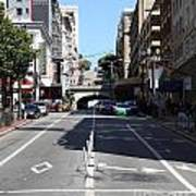 Stockton Street Tunnel In San Francisco Poster by Wingsdomain Art and Photography