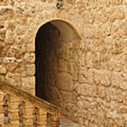 Stone Arch And Stairway Poster