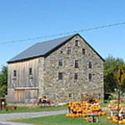 Stone Barn Poster