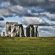 Stonehenge Landscape Poster