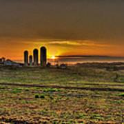 Stonehenge Of The Heartland Poster