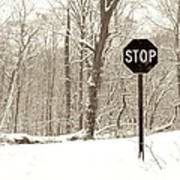 Stop Snowing Poster