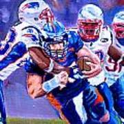 Stopping Tebow Poster by Donovan Furin