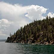 Storm Ahead Lake Tahoe Poster