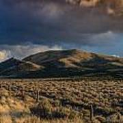 Storm Clearing Over Great Basin Poster