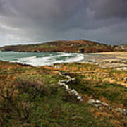 Storm Clouds Over Crookhaven Poster
