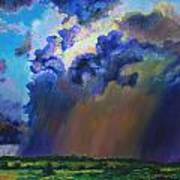 Storm Clouds Over Missouri Poster