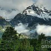 Storm  In The Tetons Poster