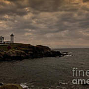 Stormy Nubble Poster by Timothy Johnson