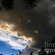 Stormy Sky Poster by Terry Elniski