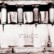 Strange Poster