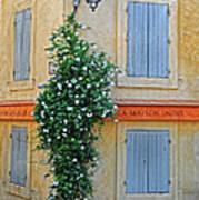 Street Corner In Provence Poster