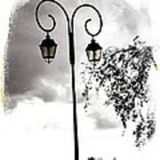 Street Lamps Poster