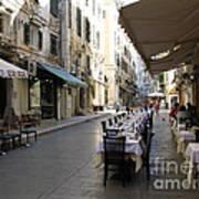 Street Restaurant Poster
