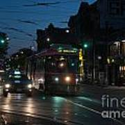 Streetcar At Queen And Spadina Poster