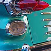 Striking Tail Lights Poster