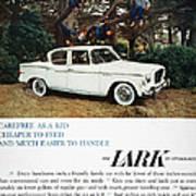 Studebaker Ad, 1959 Poster