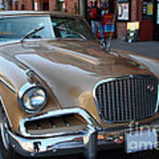 Studebaker Golden Hawk . 7d14179 Poster by Wingsdomain Art and Photography