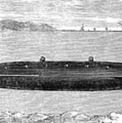 Submarine, 1852 Poster