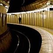Subway Curve Poster