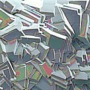 Sucrose Crystals, Sem Poster by Steve Gschmeissner