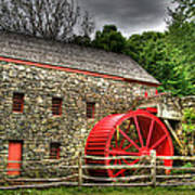 Sudbury - Storm Looms At The Grist Mill Poster