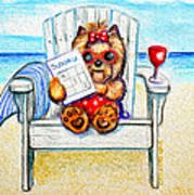 Sudoku At The Beach Poster