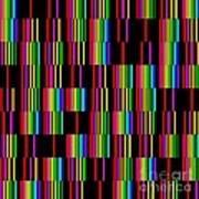 Sudoku Regular Vertical Lines Poster