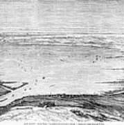 Suez Canal: Lake, 1869 Poster