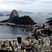 Sugarloaf Mountain Brasil Poster