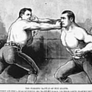 Sullivan Vs. Kilrain, 1889 Poster