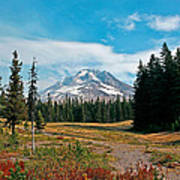 Summer At Mt. Hood In Oregon Poster