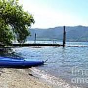 Summer Kayak Poster