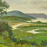 Summer Morning Hudson Highlands Poster