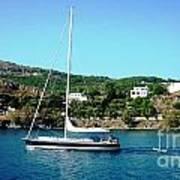 Summer Sailing Poster