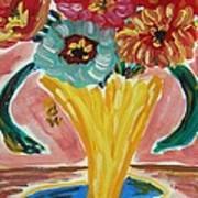 Summer Season 2012 Blooms Poster