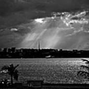 Sun Over Brasilia Poster