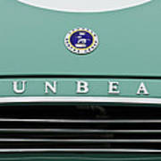 Sunbeam Rootes Group Vintage Car Poster